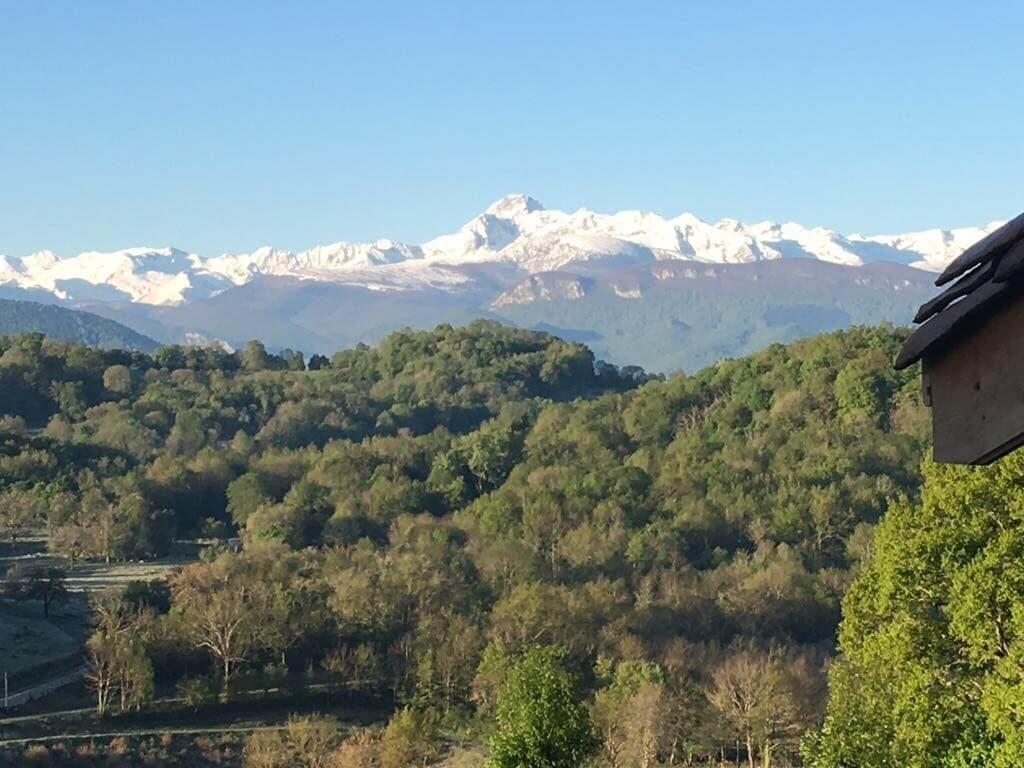 Vue du Gite de Caville à Montesquieu-Avantès
